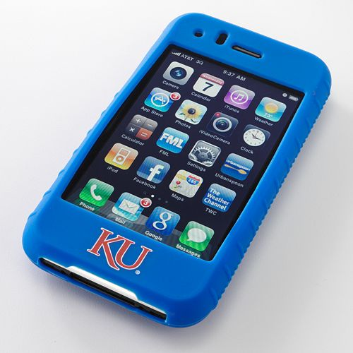 Ifanatic Kansas Jayhawks Iphone 3G/3Gs Gamefacez Silicone Case