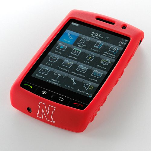 Ifanatic Nebraska Cornhuskers Blackberry Storm Gamefacez Silicone Case