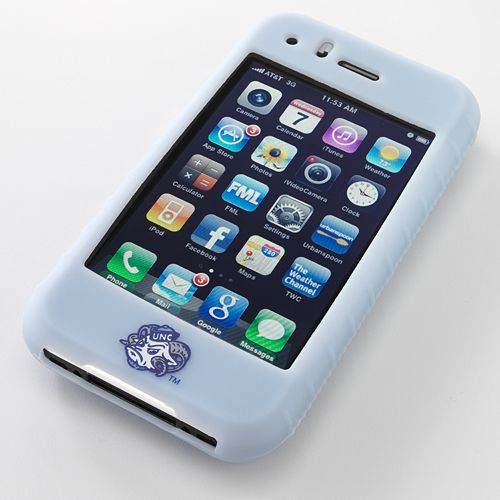 Ifanatic North Carolina Tar Heels Iphone 3G/3Gs Gamefacez Silicone