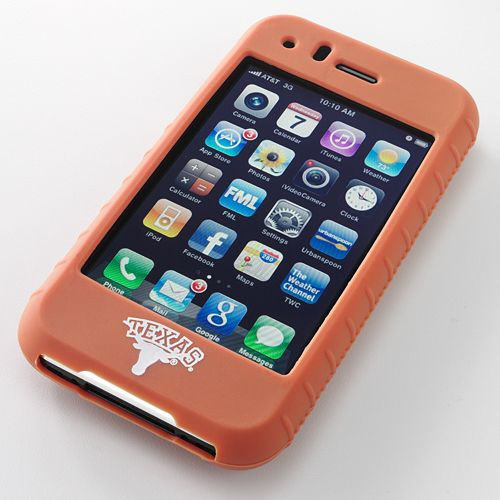 Ifanatic Texas Longhorns Iphone 3G/3Gs Gamefacez Silicone Case