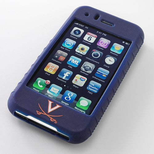 Ifanatic Virginia Cavaliers Iphone 3G/3Gs Gamefacez Silicone Case