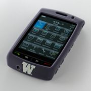 iFanatic Washington Huskies Blackberry Storm Gamefacez Silicone Case