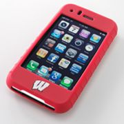 iFanatic Wisconsin Badgers iPhone 3G/3GS Gamefacez Silicone Case