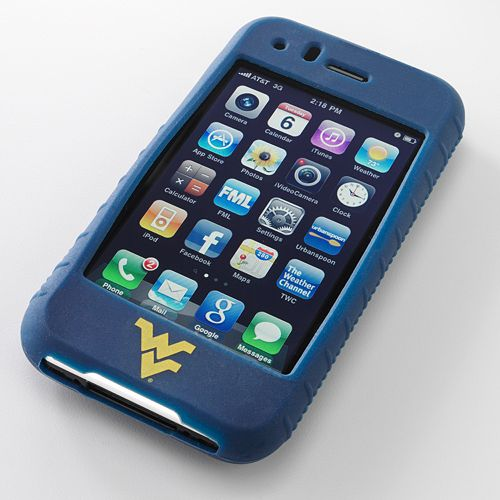 Ifanatic West Virginia Mountaineers Iphone 3G/3Gs Gamefacez Silicone