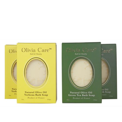 Olivia Care Verbena and Green Tea Bath Soap Gift Set