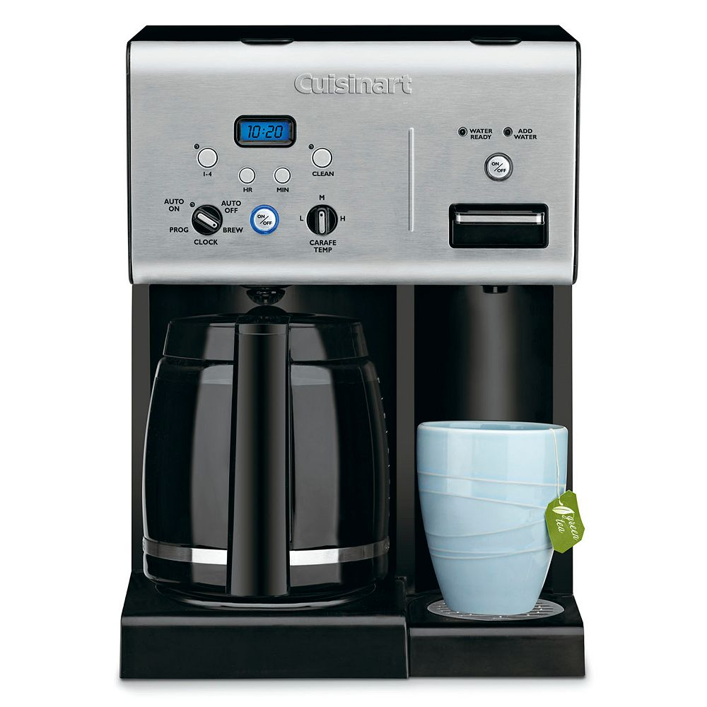 Cuisinart coffee maker stainless steel carafe - Cuisinart 12 Cup Coffee Maker With Hot Water System