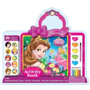 Disney Princess Paint n' Color Activity Book
