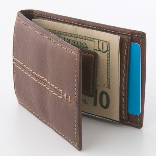 Relic Channel Reversible Flip Bifold Wallet