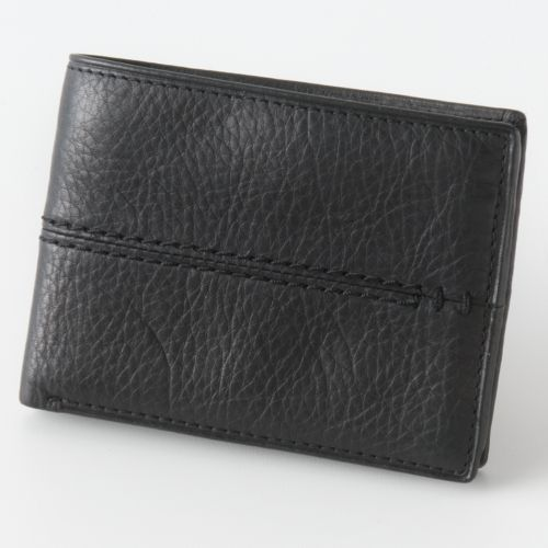 Relic Channel Traveler Leather Wallet