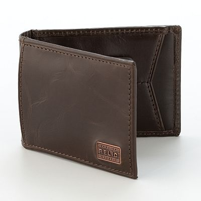 Relic Durham Billfold Leather Wallet