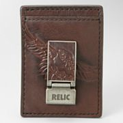 Relic Springer Multicard Leather Money Clip