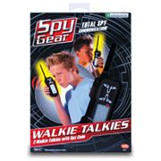 Spy Gear Walkie Talkies by Wild Planet