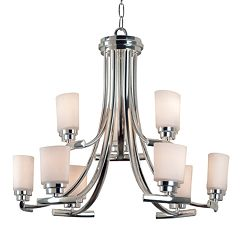 Bow 9-Light Chandelier