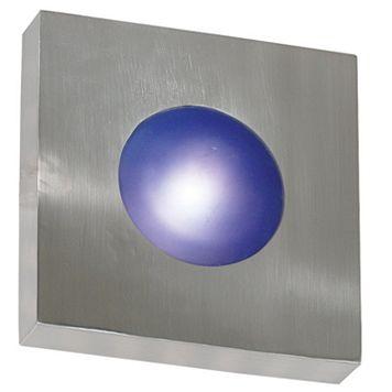 Burst Aluminum Square Sconce