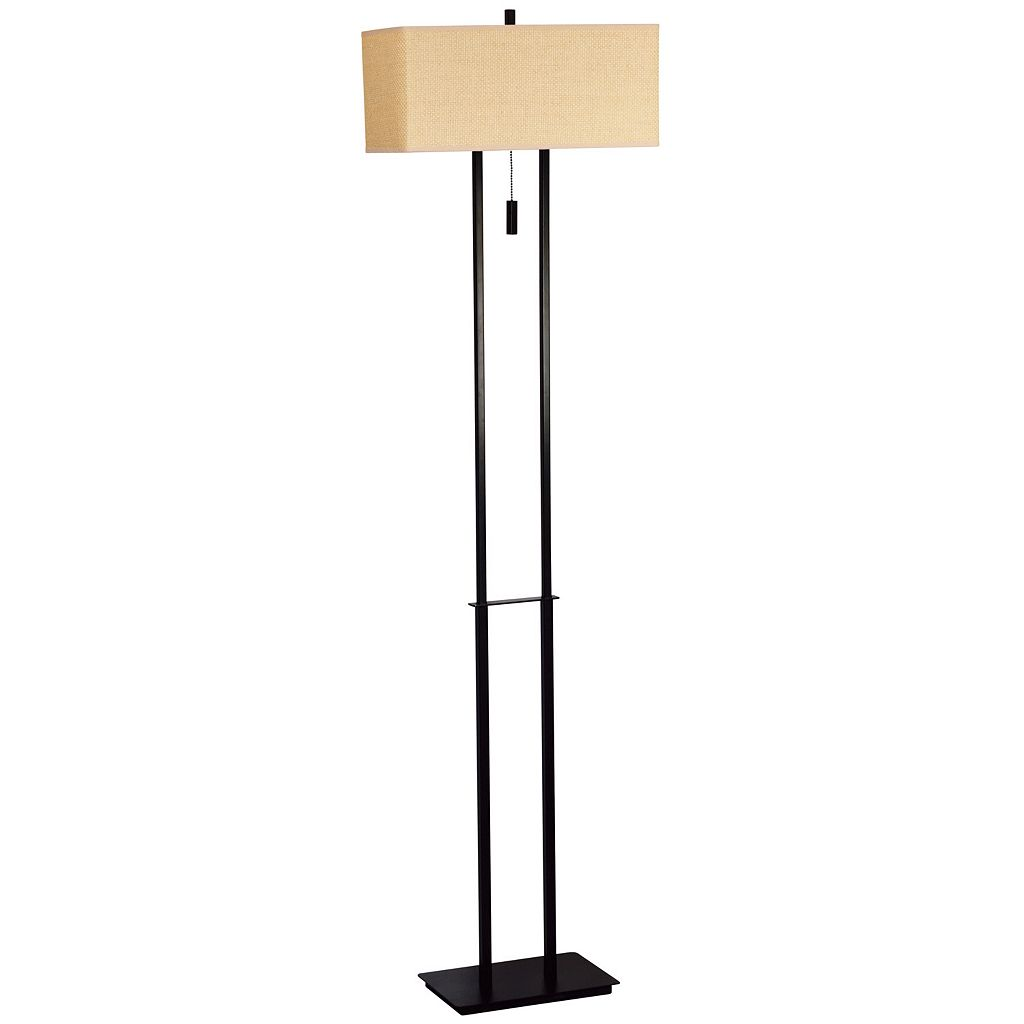 Emilio Bronze Finish Floor Lamp
