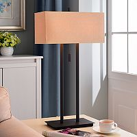Emilio Bronze Finish Table Lamp