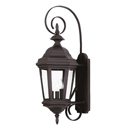 Estate Medium 3-Light Wall Lantern - Outdoor