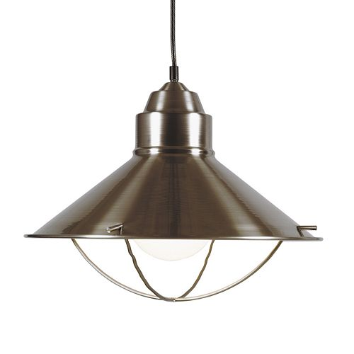 Harbour 1-Light Steel Pendant Light