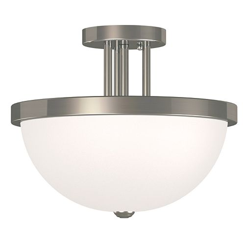 Venue 2-Light Semi-Flush Mount Ceiling Light