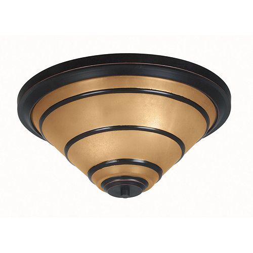 Wright 2-Light Flush Mount Ceiling Light