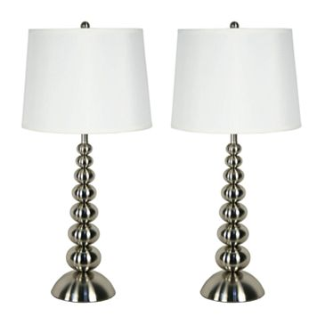 2-pk. Baubles Table Lamps