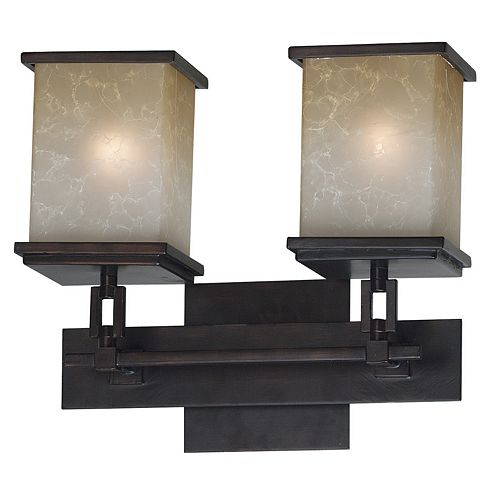 Plateau 2-Light Vanity Light