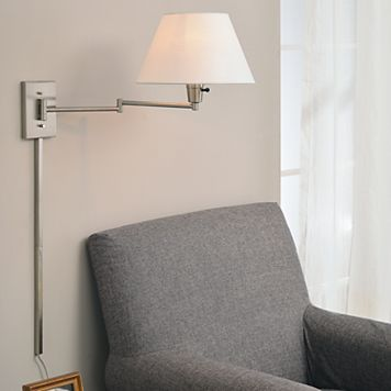 Simplicity Swing-Arm Wall Lamp