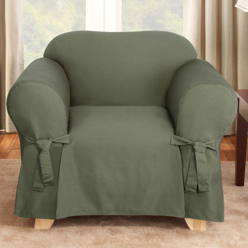 Cotton Chair Slipcover Kohls : 690438DarkGreenwid800amphei800ampopsharpen1 from www.kohls.com size 800 x 800 jpeg 72kB