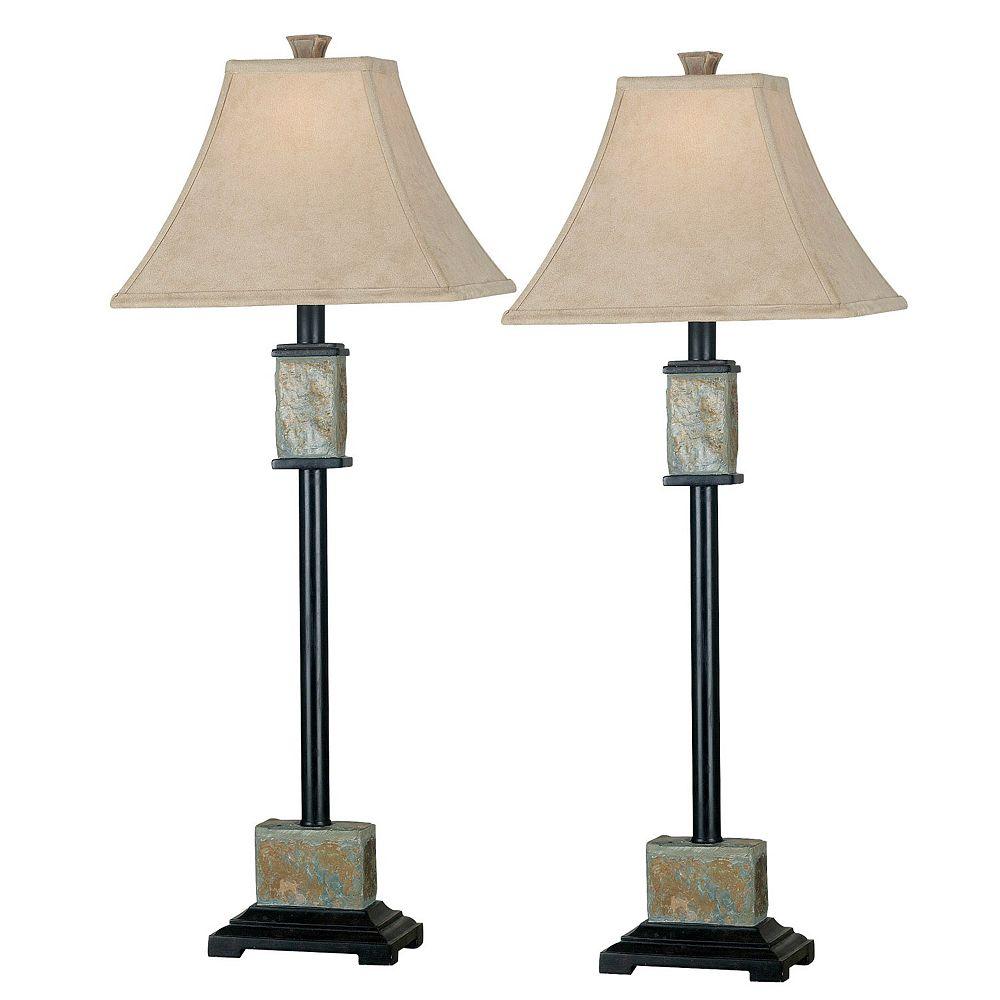 2-pk. Bennington Buffet Lamps