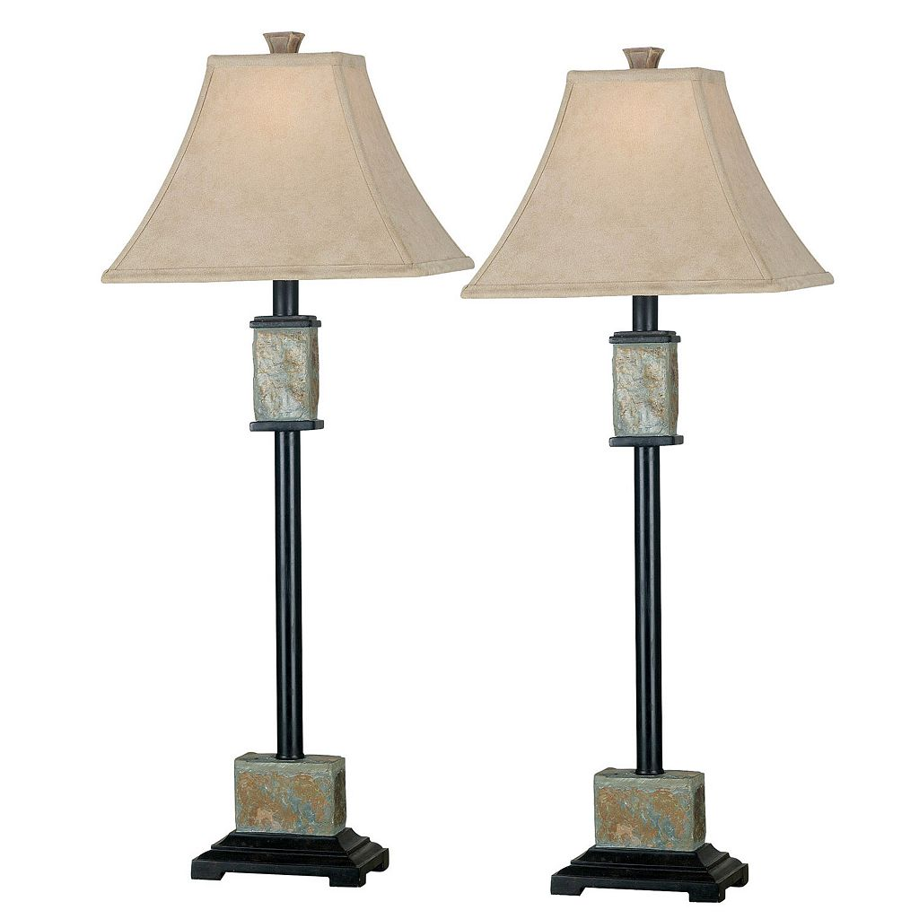 2-pk. Bennington Buffet Lamps