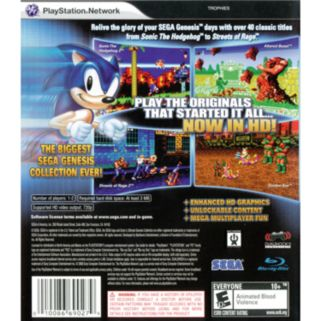 PlayStation 3 Sonic's Ultimate Genesis Collection