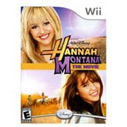 Nintendo Wii Hannah Montana The Movie