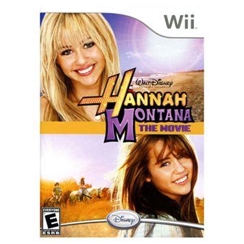 Nintendo® Wii™ Hannah Montana® The Movie
