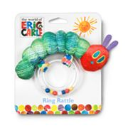 Kids Preferred Eric Carle Caterpillar Ring Rattle