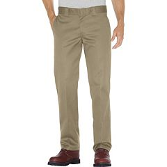 Men's Dickies Slim Straight Fit Twill Work Pants