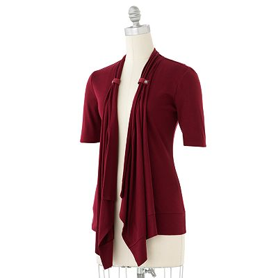 SONOMA life + style Open-Front Cardigan