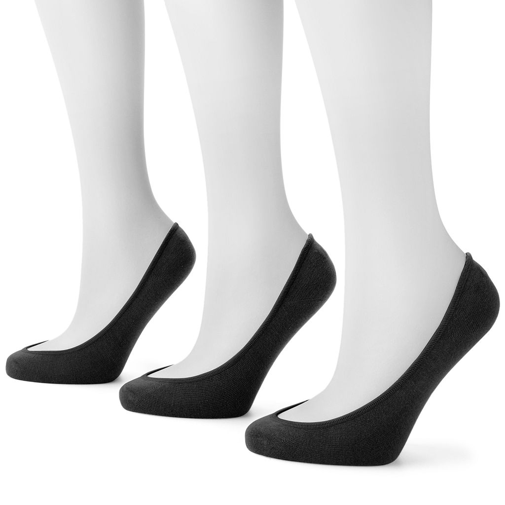 Apt. 9® 3-pk. Extra Low-Cut Liner Socks