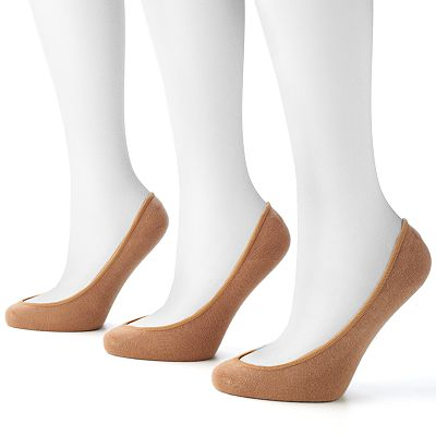 Apt. 9 3-pk. Extra Low-Cut Liner Socks