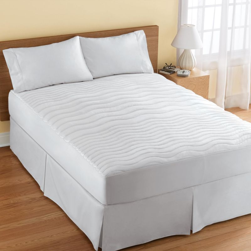 Serta Serta Waterproof Electric Warming Mattress Pad White