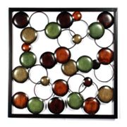 Square Bunches of Circles Wall Decor