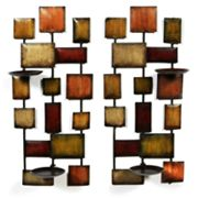 Urban Flair Sconce Candleholder Set