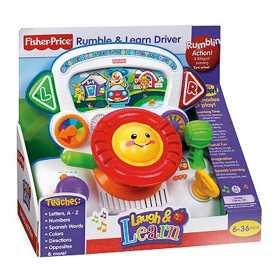 Fisher-Price Laugh and Learn Rumble and Learn Driver