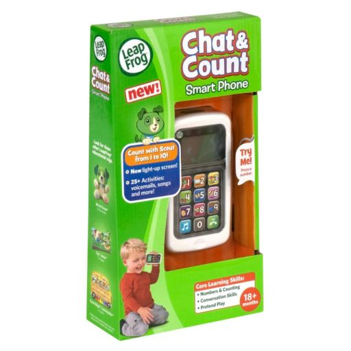 LeapFrog Chat and Count Smart Phone - Green