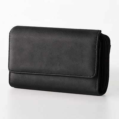 Croft and Barrow Zip-Around Checkbook Wallet