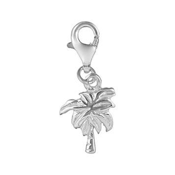 Personal Charm Sterling Silver Palm Tree Charm