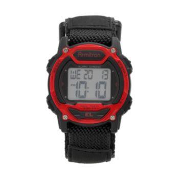 Armitron Women's Instalite Digital Chronograph Sport Watch - 45/7004RED