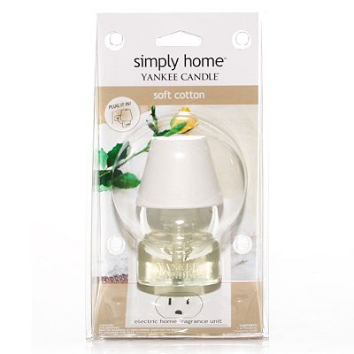 Yankee Candle simply home Soft Cotton Electric Home Fragrancer