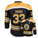 Boys 8-20 Reebok Boston Bruins Zdeno Chara NHL Replica Jersey