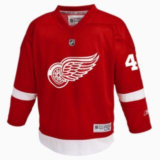 Boys 8-20 Reebok Detroit Red Wings Henrik Zetterberg NHL Replica Jersey