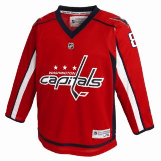 Boys 8-20 Reebok Washington Capitals Alex Ovechkin NHL Replica Jersey
